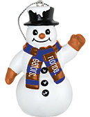 University of Florida Gators 3 in. Snowman Ornament