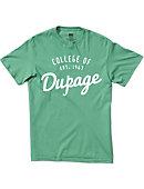 College of DuPage Retro T-Shirt