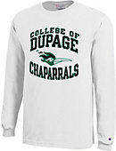College of DuPage Chaparrals Long Sleeve T-Shirt