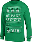 College of DuPage Ugly Sweater Long Sleeve T-Shirt