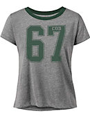 College of DuPage Women's Cropped Short Sleeve T-Shirt