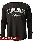 College of DuPage Chaparrals Long Sleeve Waffle T-Shirt