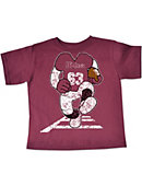 University of Massachusetts - Amherst Football Player Toddler T-Shirt