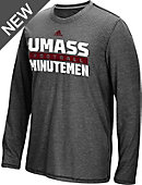 adidas University of Massachusetts - Amherst Football Practice Long Sleeve T-Shirt