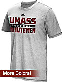 Adidas University of Massachusetts - Amherst Football Aeroknit T-Shirt