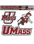 University of Massachusetts Moveable Decal