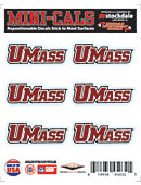 University of Massachusetts 5''x6'' Moveable Decal