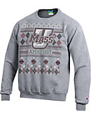 University of Massachusetts - Amherst Minutemen Ugly Sweater Crewneck Sweatshirt