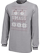 University of Massachusetts - Amherst Youth Christmas Long Sleeve T-Shirt