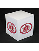 University of Massachusetts - Amherst 550 Sheet Sticky Note Paper Cube