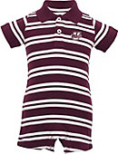 University of Massachusetts - Amherst Infant Boy's Polo Romper