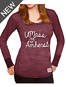 University of Massachusetts - Amherst Youth Girls' Long Sleeve T-Shirt