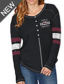 University of Massachusetts - Amherst Minutemen Women's Long Sleeve Henley T-Shirt