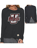 University of Massachusetts - Amherst Women's Long Sleeve Splitback T-Shirt