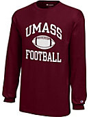 University of Massachusetts - Amherst Football Youth Long Sleeve T-Shirt