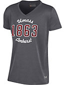 University of Massachusetts - Amherst Girl's Short Sleeve V-Neck T-Shirt