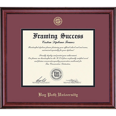 Product: Bay Path University 8'' x 10'' Classic Diploma Frame