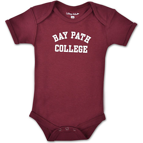 Product: Bay Path College Infant Bodysuit
