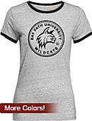 Bay Path University Women's Athletic Fit Ringer Short Sleeve T-Shirt