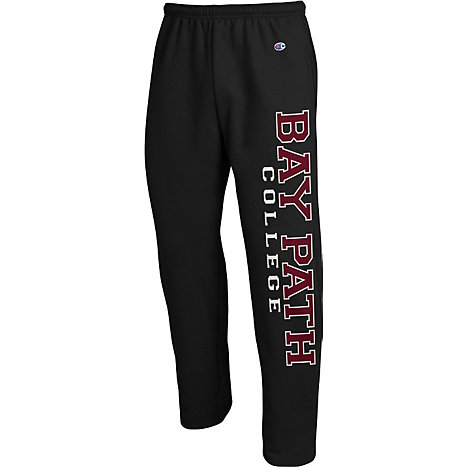 Product: Bay Path College Open Bottom Sweatpants
