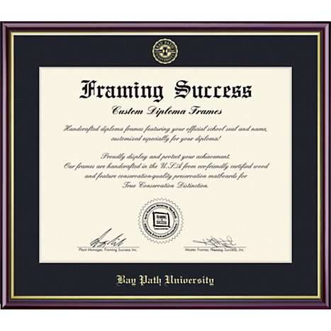 framing success bay path university 8 x 10 value price academic diploma frame