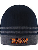 Lincoln University Striped Beanie