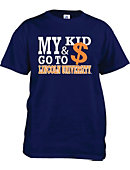 Lincoln University 'My Kid and Money Go To' T-Shirt