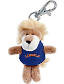 Lincoln University Plush Keychain