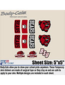Bridgewater State University Body Decal