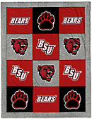Bridgewater State University 62'' x 80'' Spirit Blanket