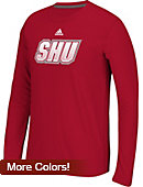 Sacred Heart University Climalite Ultimate Long Sleeve T-Shirt Extended Sizes
