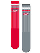 Sacred Heart University Women's Mismatch Socks