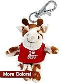 Sacred Heart University I Heart' Plush Keychain