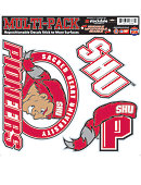 Sacred Heart University Pioneers 12'' x 12'' Moveable Decal