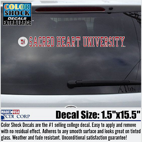 Product: Sacred Heart University Strip Decal