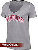 Sacred Heart University Women's V-Neck T-Shirt