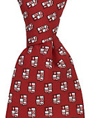 Sacred Heart University Silk Tie