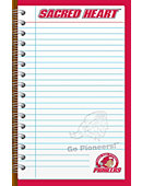 Sacred Heart University Pioneers 50-Sheet Memopad 2-Pack