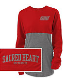 Sacred Heart University Pioneers Women's Ra Ra T-Shirt