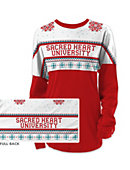 Sacred Heart University Women's Long Sleeve Ugly Sweater Ra Ra Shirt