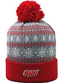 Sacred Heart University Pioneers Christmas Cuffed Pom Hat