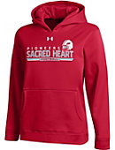 Sacred Heart University Football Youth Performance Hooded Sweatshirt