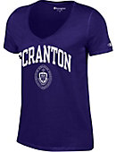 University of Scranton Women's V-Neck T-Shirt