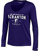 University of Scranton Women's V-Neck Long Sleeve T-Shirt