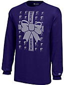 University of Scranton Ugly Sweater Youth Long Sleeve T-Shirt