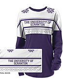 University of Scranton Women's Long Sleeve Ugly Sweater Ra Ra Shirt