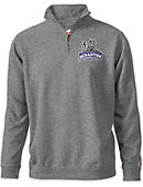 University of Scranton Royals Tri-Blend 1/4 Zip Fleece Pullover