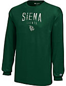 Siena College Saints Youth Long Sleeve T-Shirt