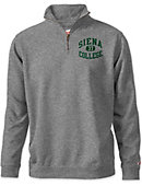 Siena College 1/4 Zip Tri-Blend Top