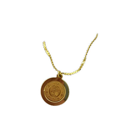 Product: School Seal Pendant Necklace